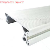 Arbitrary Cutting 1000mm 40200 Aluminum Extrusion Profile,Silvery Color.