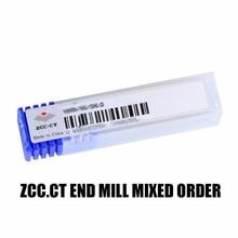MIESZANE NM/HMX Darmowa wysyłka PRZEZ EMS Spiral Bit frez frezy Narzędzia CNC solidna Carbide End mill frezy