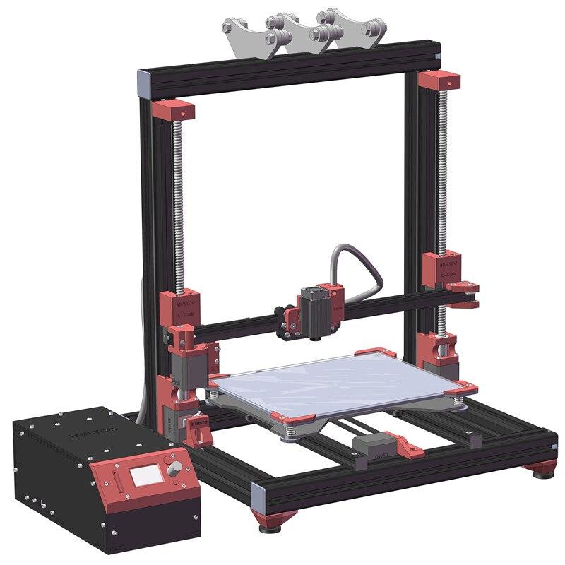 Biggerlaser plaque d'impression imprimante 3d multoo Double buse Double extrudeuse 3D imprimante accessoires haute qualité précision - 4