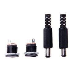 10pair 2 1mm x 5 5mm male plug female plug socket panel mount jack dc connector.jpg 250x250