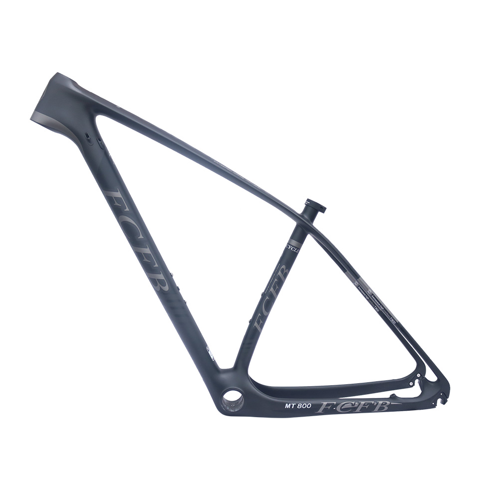super light 29er 27 5er fat tire mountain bike new carbon frame through axle mtb frame 2017  FCFB Super light  142 135 carbon mountain bike frame 29er 27.5er carbon mtb frames disc Racing bicycle frameset