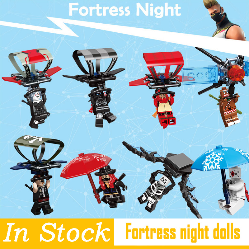 2019 New Legoing Fortress Night Model BuildingBlocks Bricks Compatible With Legoing Technic Children Gifts Toys Mini Dolls