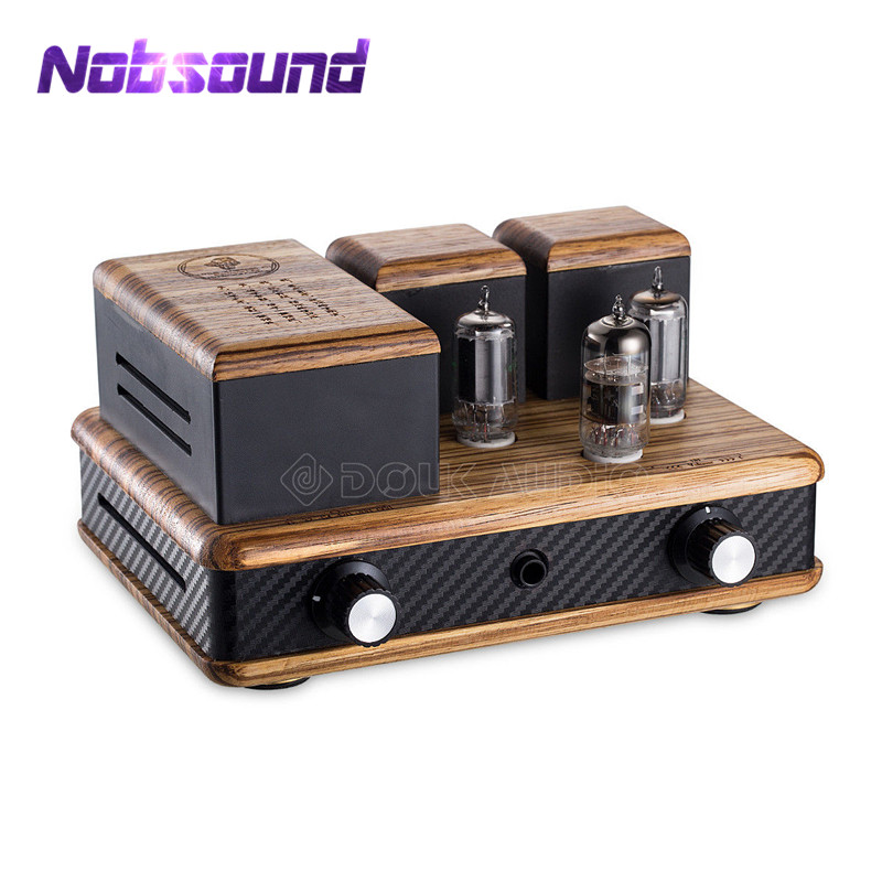 Nobsound Mini 12AX7+GE5686 Vacuum Tube Headphone Amplifier HiFi Class A Single-ended AmpNobsound Mini 12AX7+GE5686 Vacuum Tube Headphone Amplifier HiFi Class A Single-ended Amp