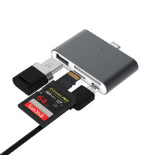 Get more info on the Mosible OTG USB Type C Card Reader USB-C to SD TF Micro USB Hub 2.0 Multifunction Readers for Type-c Phone PC Laptop Use