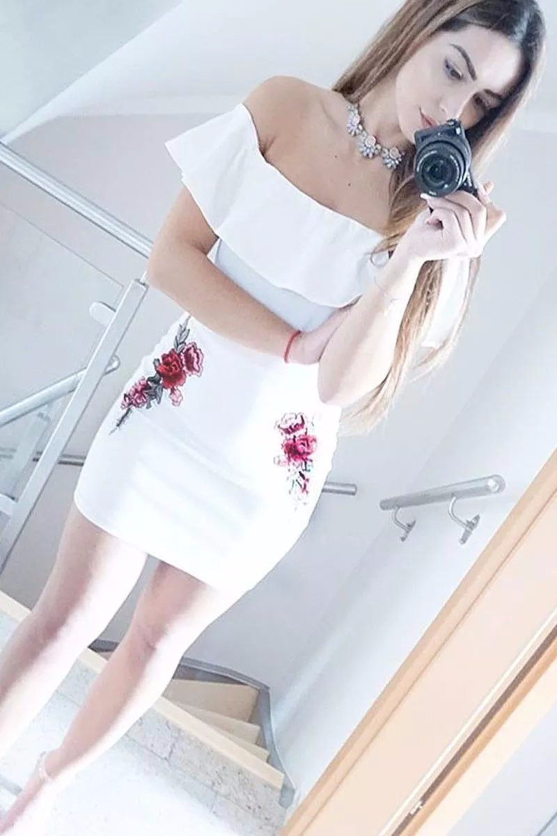 HTB19PxgPpXXXXXBaXXXq6xXFXXXn - Sexy Off Shoulder Embroidery Black Dress Women Mini PTC 158