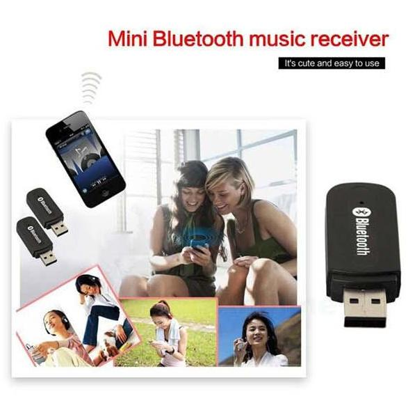 Usb bluetooth receptor de música bluetooth estéreo de 3.5mm para el coche aux, A