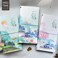 Japanese Travel Notebook Cute Portable Diary Book Cute Cartoon Planner Notepad Kids Gifts School Office Supplies