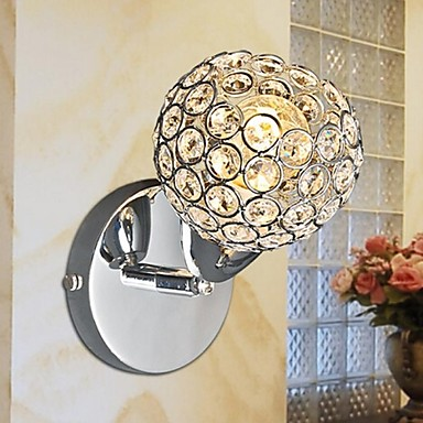 Fashion Crystal Wall Sconce Modern LED Wall Light Fixtures For Home Bedroom Bedside Wall Lamps Lampara Pared Arandela modern led crystal wall light lamp for home wall sconce arandela lampara de pared