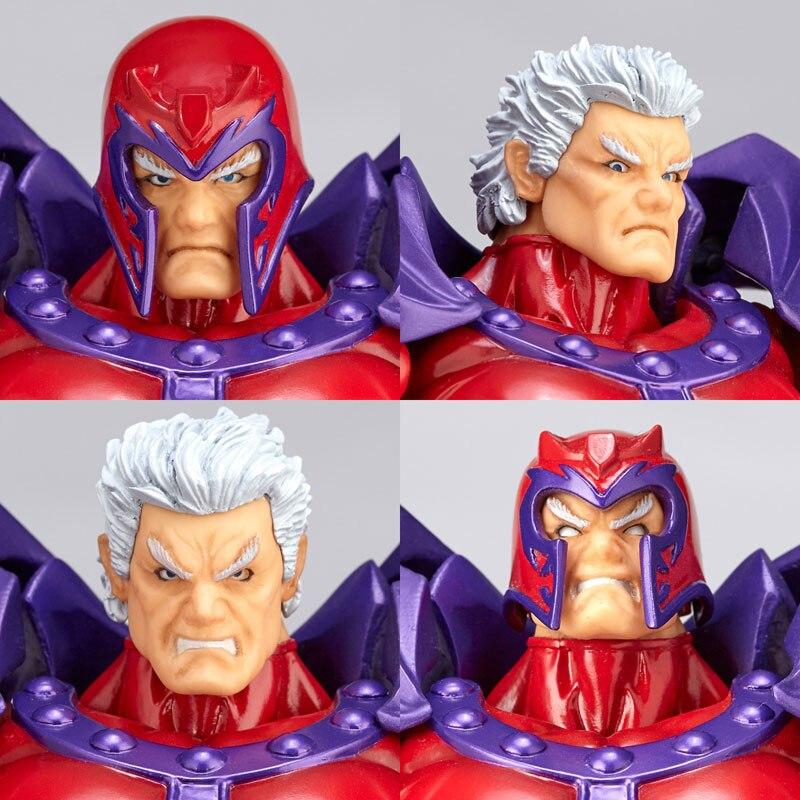 Revoltech Amazing Red Venom Carnage Amazing Captain America Spiderman Magneto Wolverine X-men Action Figures Toy Doll (17)