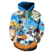 Naruto Classic Printed Hoodies