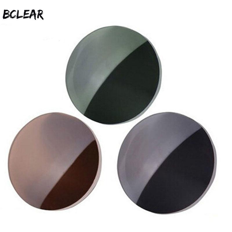 BCLEAR 1.49 Vyrai ir moterys Myopia Presbyopia Polarizuoti akiniai nuo saulės Lęšiai Ruda Pilka Žalia Saulės akiniai, skirti vairuoti saulės lęšį