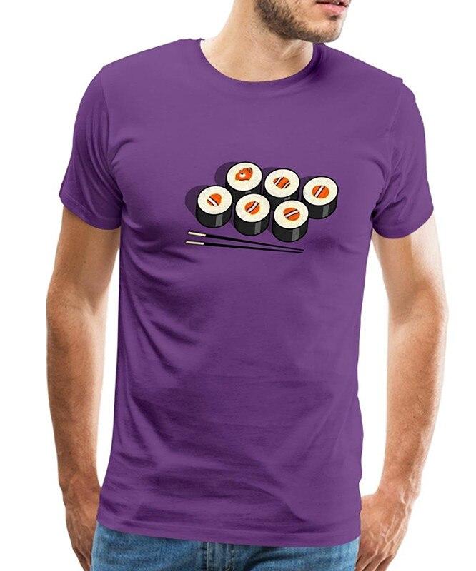 T Shirt Shop Short Men Sushi MenS Premium O-Neck Fashion 2018 Tees