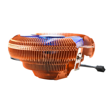 12V CPU Cooler Fan  Hydraulic Bearing Heatsink Fan Computer PC Case Air Cooling Radiator for Intel 775 1150 1155 1156 AMD754 939 pccooler v6 4 copper heatpipes cpu cooler suitable fan amd intel 775 1150 1151 1155 cpu radiator cooling cpu fan pc quiet