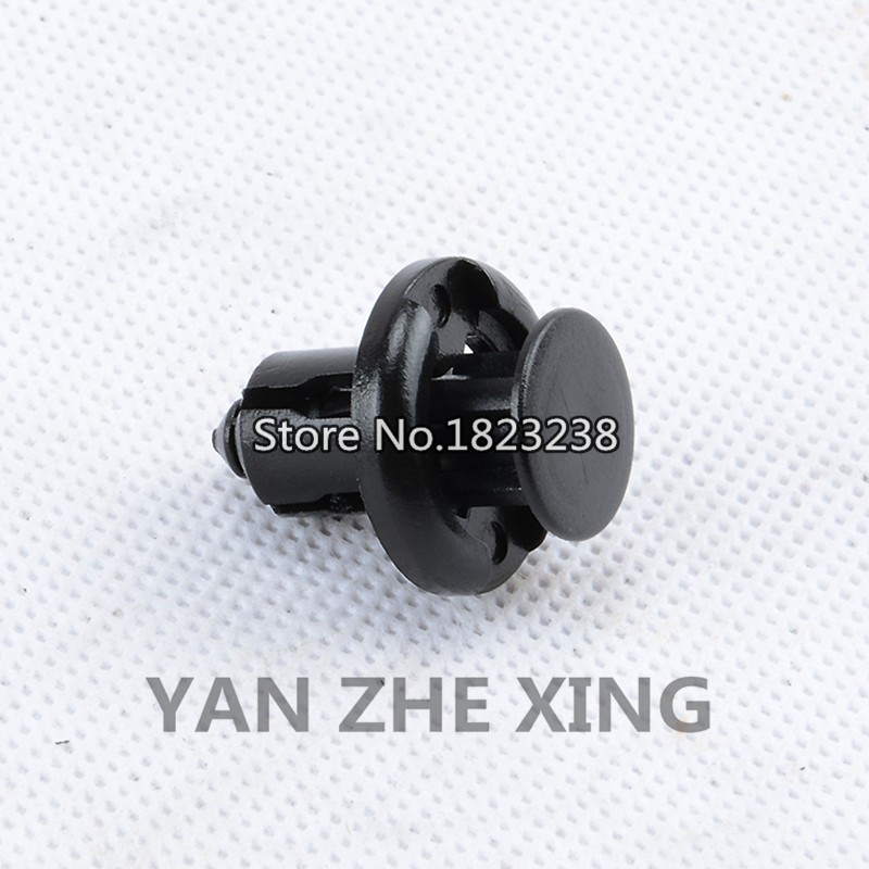 Color Name: 300PCS Fastener & Clip High Quality Nylon Fastener Rivet Cowl Top Retainer Clip 91508-S50-003 for Honda for Accord 1998 - On 17.4mm*15mm*8.8mm