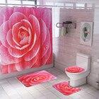 4PCS Non Slip Toilet...
