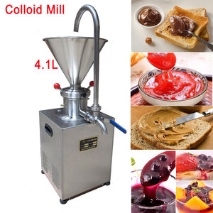 Image 1 - Peanut Butter Machine Paste Jam Colloid Mill Chocolate Tomato Sesame Grinder for Food/Chemical/Pharmaceutical/Daily Chemical