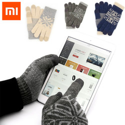 Original Xiaomi Touch Screen Gloves Finger Screen Touch Gloves Winter Warm Wool Gaming Gloves for Xiaomi mijia smart home kits