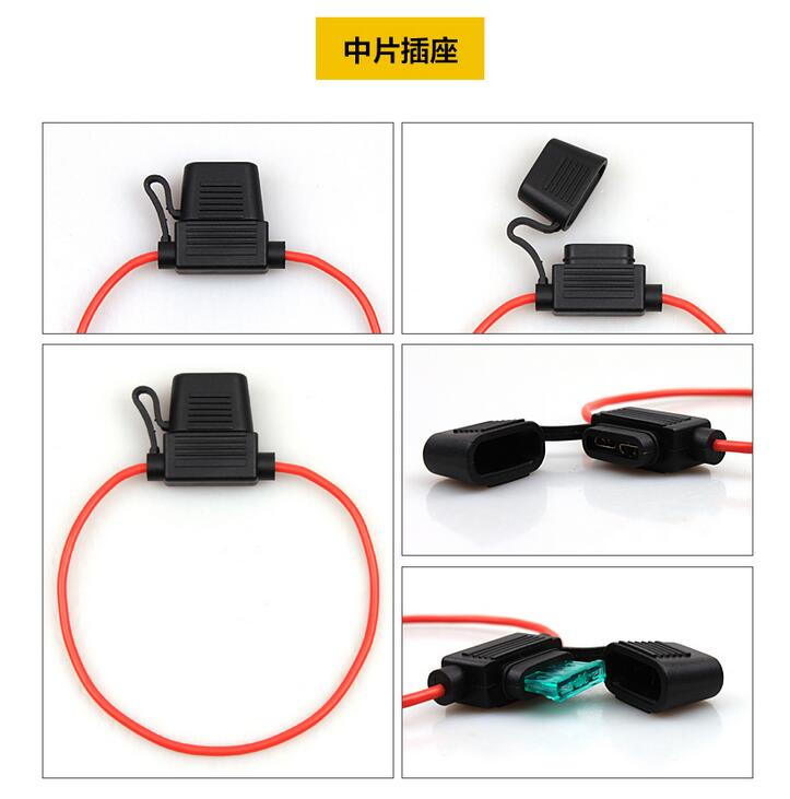 compare prices on automobile fuse box online shopping buy low waterproof auto fuse box medium size fuse socket refit wire plug for automobile fuse