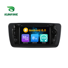 Octa Core 4GB RAM Android 8.0 Car DVD GPS Navigation Multimedia Player Car Stereo for Seat Ibiza 2009-2013 Radio Headunit Device