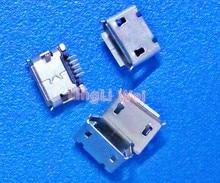 Cable Length: 10 pcs SMT Micro USB Jack Mini 5-Pin USB Jack Socket Connector Dock Charger Connector Port U010m Cables 5-200 PCS