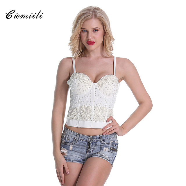 50015dd891964 CIEMIILI-2018-Solide-Perles-Femmes-Fitness-Top-Fashion-Sexy-Court -Blanc-Noir-Courroie-de-spaghetti-de.jpg 640x640.jpg