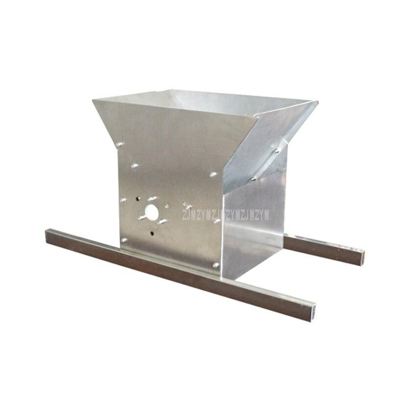 Machine manuelle de presse de raisin de jus de corps d'acier inoxydable de broyeur de raisin de main 50 kg/heure outil rouge d'accessoires de brassage de vin