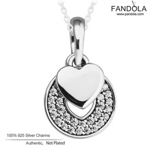 Choker Necklace Silver 925 Jewelry Celebration Hearts Clear CZ Necklace & Pendant Sterling Silver Clear CZ Necklaces for Women
