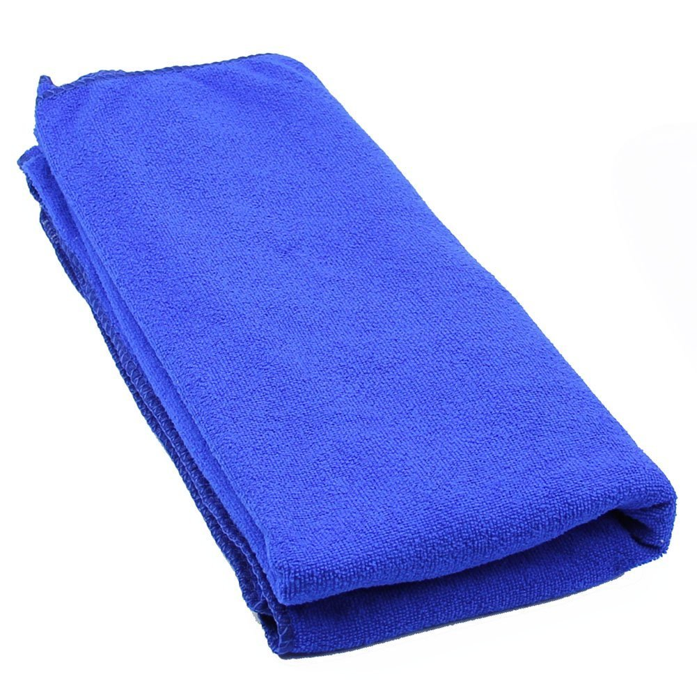 Estone Durable Fast Drying Microfiber Bath Towel Travel Gym Camping Sport (Dark Blue)