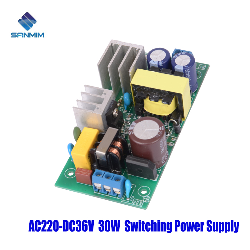 SANMIN AC220V-DC36V 0.85A 30W Power supply Isolated switch power supply module <font><b>220</b></font> to <font><b>36v</b></font> bare board GPN30E36V image