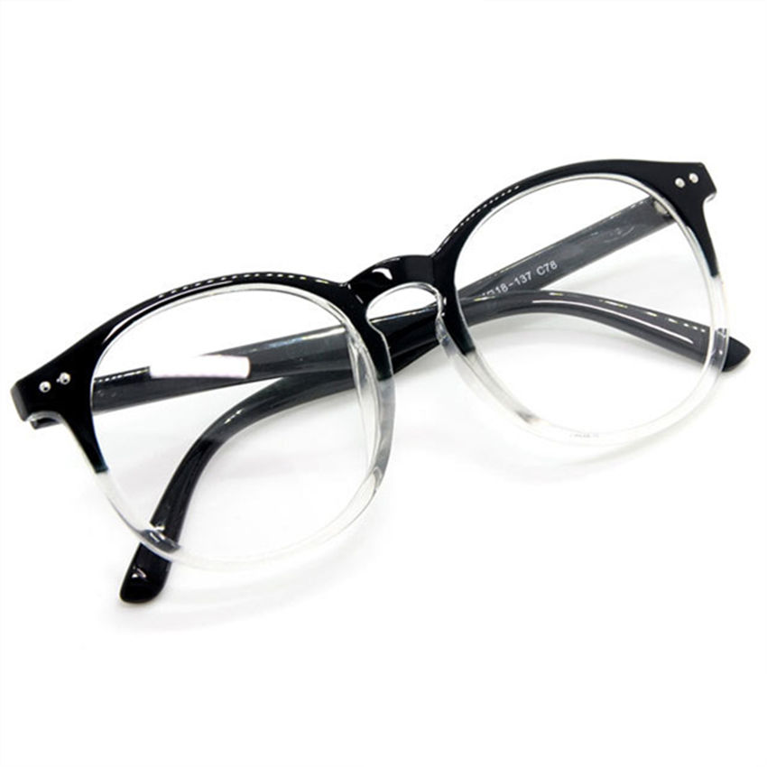 spectacle glasses frames fashion glasses with clear glass brand optical clear transparent glasses women men frame in eyewear frames from mens clothing