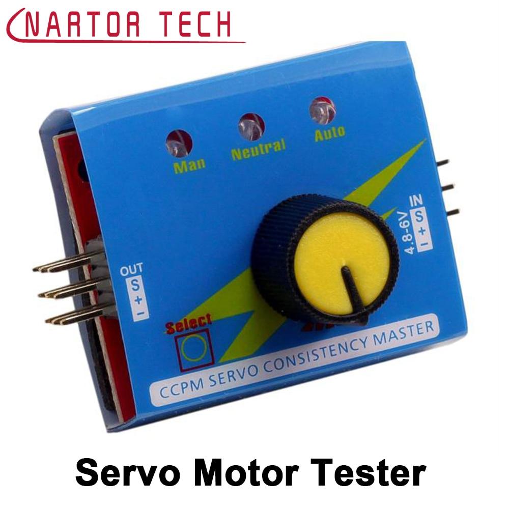 3 Modes ESC Servo Tester CCPM Consistency Master Checker For RC Drone Boat Car 9