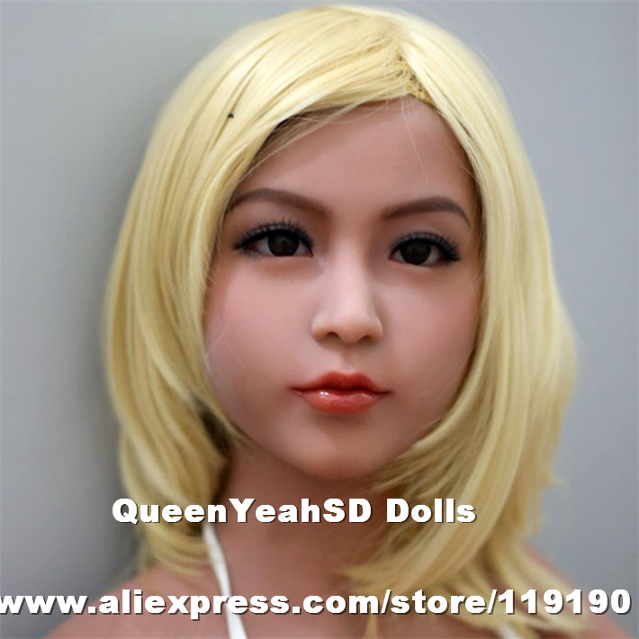 Top quality oral head for real doll silicone sex doll love doll, adult sex toys for men, sex products new top quality silicone sex doll head for real human dolls real doll adult oral sex toy for men