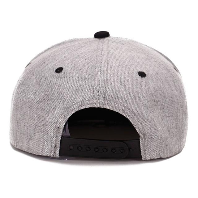 Gorra de béisbol hip hop para hombres y mujeres