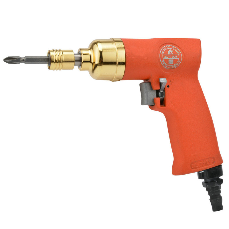 цена на Gun type pneumatic screwdriver powerful gun type air gun type gas BD-1005 pneumatic screwdriver