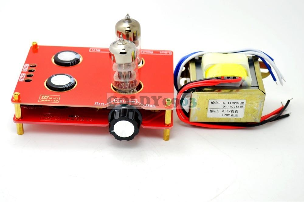 6N3 Tube HIFI Buffer Audio pre-amplifier amp board with Transformer