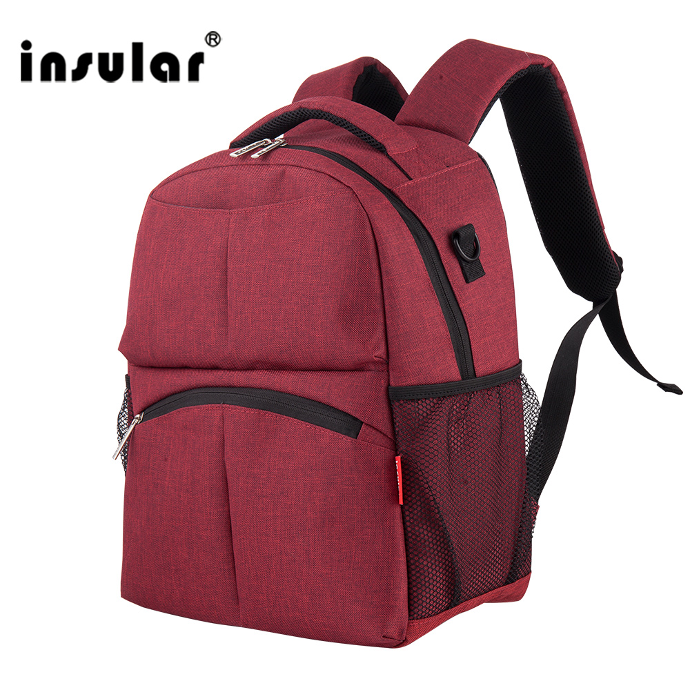 Insular 5 Colors Fashionable Shoulder Outdoor Bag Linen Large Capacity Backpack Mummy Baby Mom Bag To Be Childbirth Package XNC amelie galanti ms backpack fashion convenient large capacity now the most popular style can be shoulder to shoulder many colors