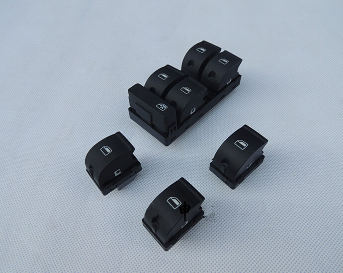 4 pieces car Accessories Electric window lifter switch power panel control switches button FOR audi a4 b6 b7 allroad