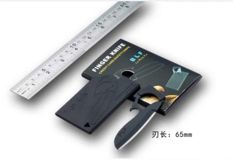 Карточка с оболочкой Походный нож для выживания острый резак для кредитных карт долговечный EDC инструмент автомобильные аксессуары/500 шт