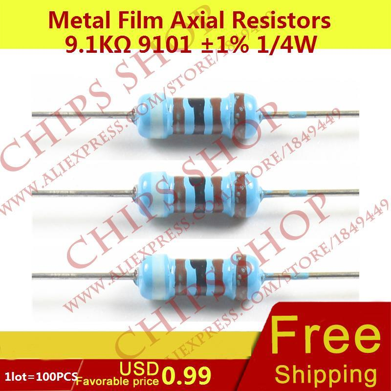 RES SMD 910 OHM 0.25/% 1//16W 0402 Pack of 100 ERA-2ARC911X