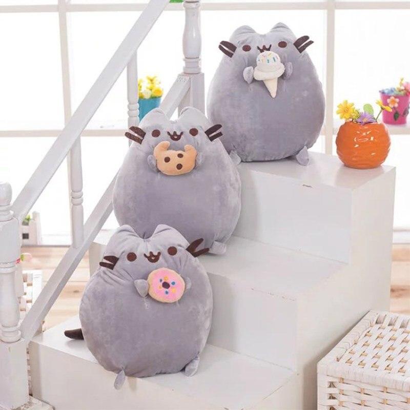 Cartoon Donuts Kat Cookie Icecream Rainbow Cake Stijl Pluche Soft Gevulde Dieren Speelgoed Voor Kinderen Kids Gift