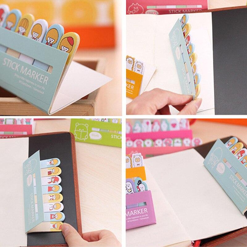 Notebooks & Writing Pads Cxzy Bear Panda Page Flags Rilakkuma Sticky Note Kawai Pink Index Tabs Memo Pad Planner Sticker Cute Items List Stationery 3b815 Memo Pads