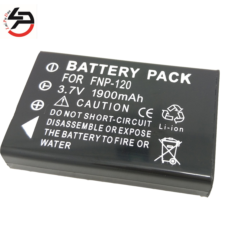 Laipuduo 1900mah 100% brand new Replacement Camera <font><b>Battery</b></font> For Fujifilm FNP-<font><b>120</b></font> FNP120 NP120 <font><b>NP</b></font>-<font><b>120</b></font> 603 M603 M603 Zoom F10 F11 image