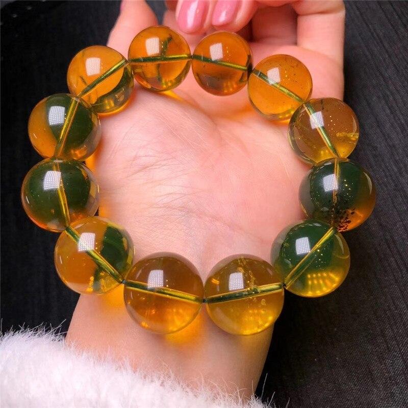Natural Blue Amber Bracelets (2)