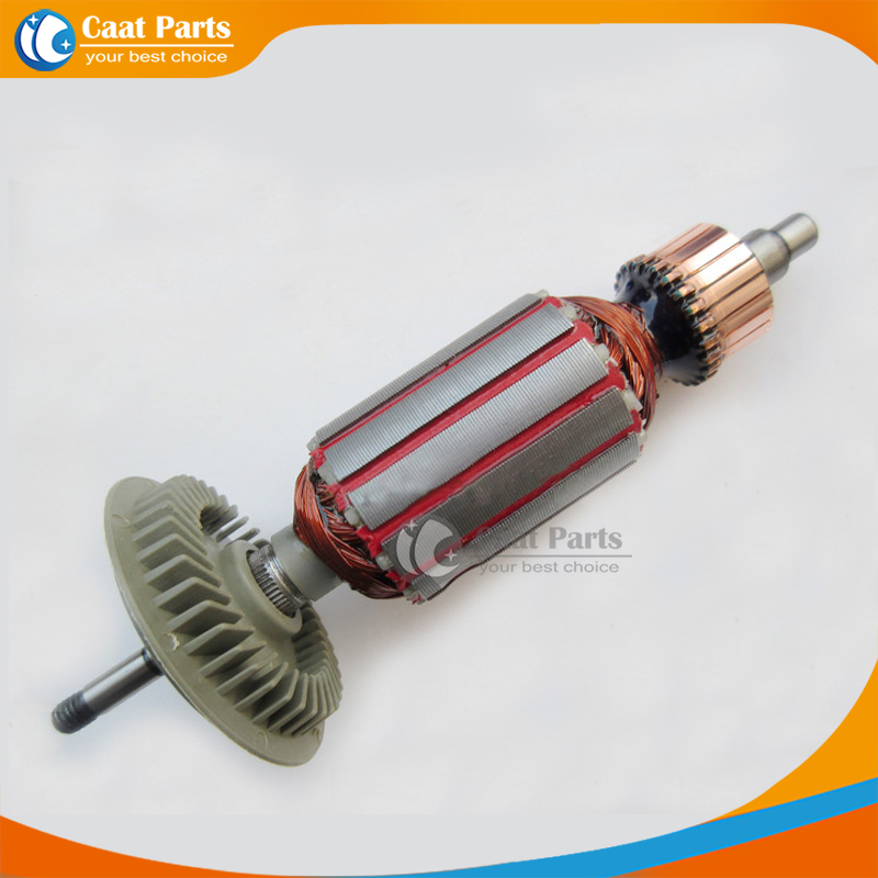 AC 220V Drive Shaft Electric Hammer Armature Rotor for Bosch GWS6-100,High-quality! Free shipping! ac 220v electric cutting machine armature part motor rotor for bosch tgh 6ba