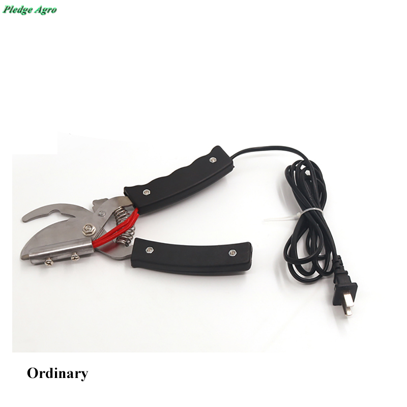 Image 2 - Piglet tail cut electric heating clamp docked tail plier for piglet bloodless piggery farm cutter farming equipment tools vet-in Feeding & Watering Supplies from Home & Garden