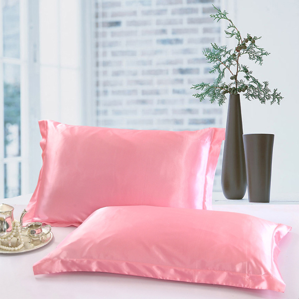 Aliexpress Com Buy Solid Pillow Case Queen Standard