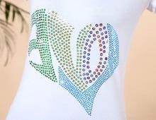 Heart hotfix Sequins motif ,Sequins transfer design accessories appliques hot fix
