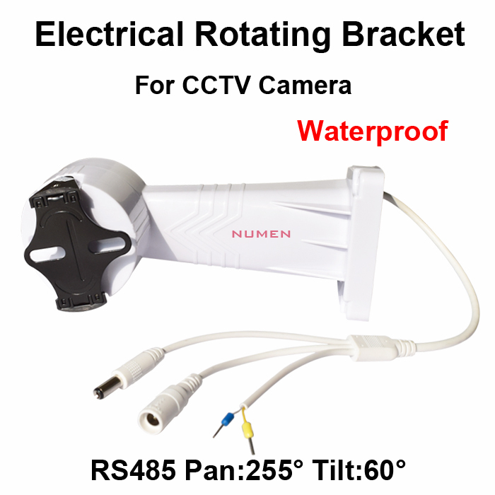2014 New CCTV PTZ Bracket Electrical Rotating Bracket Wall Mount installation for cctv camera Adjustable rotation holder RS485