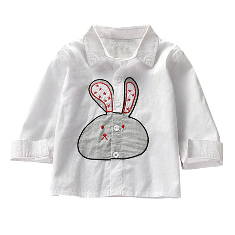 eef079c77c9c Girls Clothing Children Linen Shirt Kids 2019 Spring Autumn Long Sleeve  Shirts Tops Tee Ruffled Comfortable Button Blouse 3-10Y