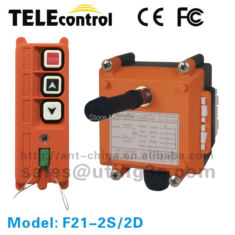Radio Remote Control With Green Technology F21-2SRadio Remote Control With Green Technology F21-2S